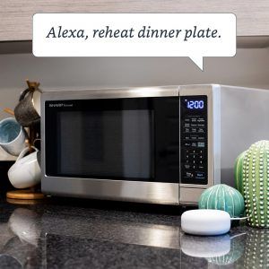 Sharp Microwave with Alexa commands