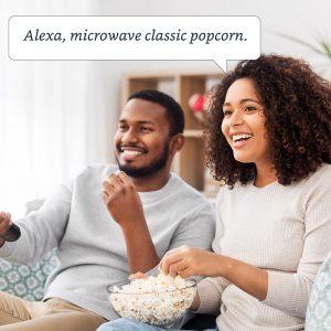 Popcorn Alexa command