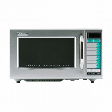 Medium Duty Commercial Microwave Oven with 1000 Watts (R21LVF)