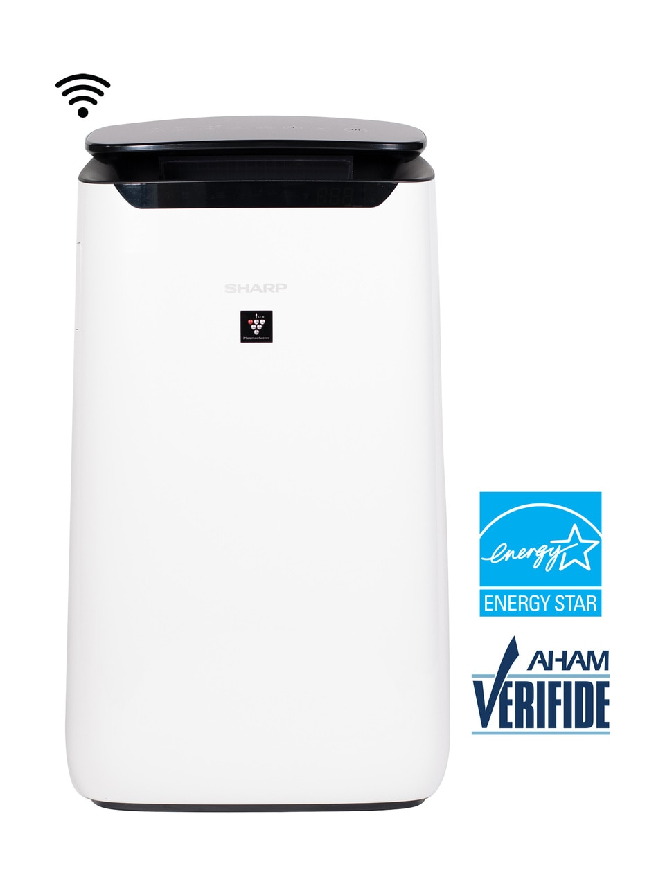 Sharp IoT True HEPA Large Room Air Purifier with Plasmacluster® Ion Technology (FXJ80UW)