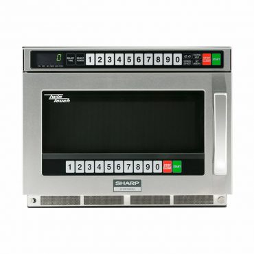 Sharp Twintouch™ 1800 Watt Commercial Microwave Oven with Dual TouchPads (RCD1800M)