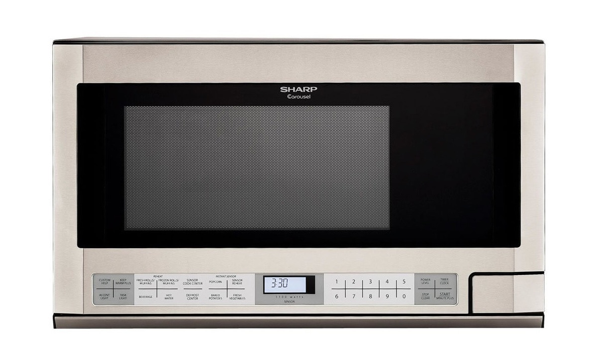 1.5 cu. ft. Stainless Steel Over-the-Counter Microwave (R1214TY)