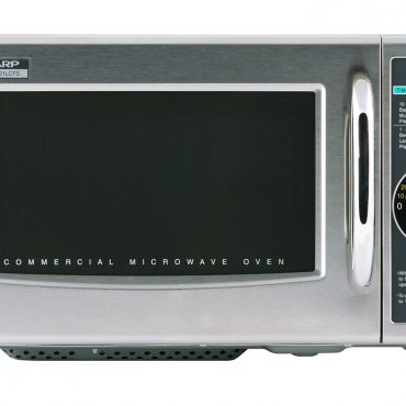 Medium-Duty Commercial Microwave Oven with 1000 Watts (R21LCFS)