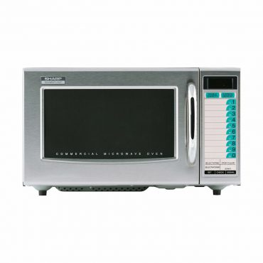 Medium Duty Commercial Microwave Oven with 1000 Watts (R21LTF)