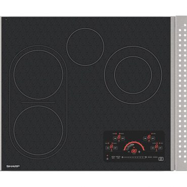 "24"" Drop-In Radiant Cooktop with Side Accessories (SCR2442FB)"