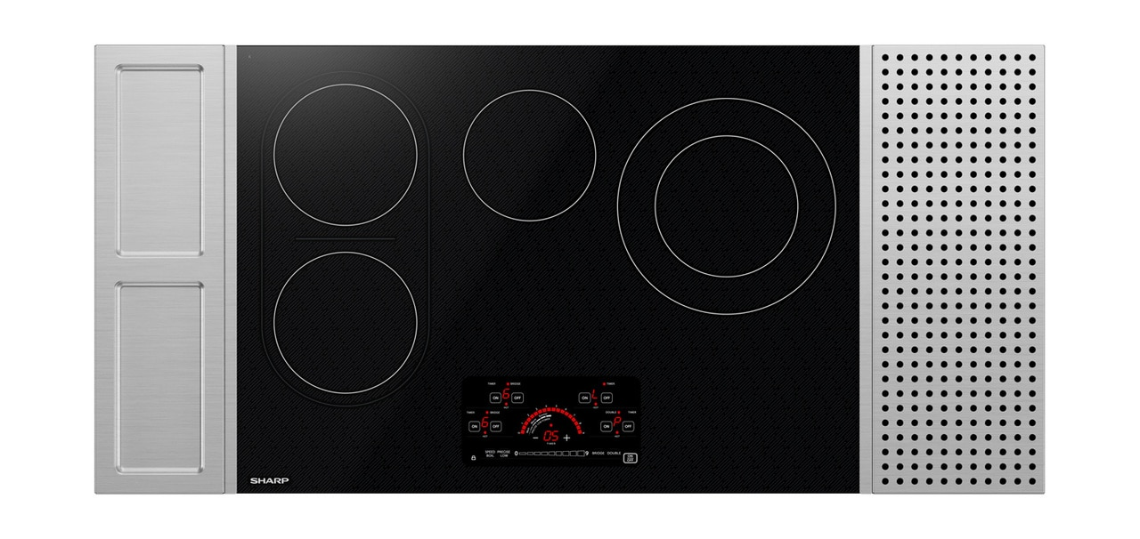 30-inch Drop-In Radiant Cooktop with Side Accessories (SCR3042FB)