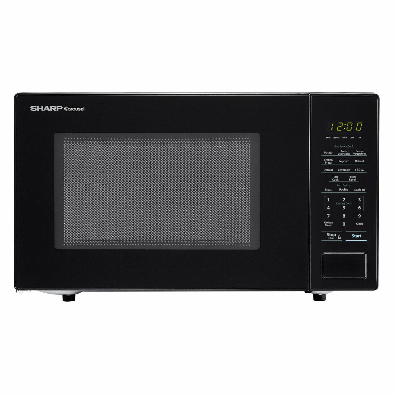 Sharp 1.1 cu. ft. Black Countertop Microwave (SMC1131CB)