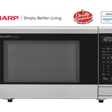 1.1 cu. ft. Sharp Stainless Steel Smart Microwave (SMC1139FS)