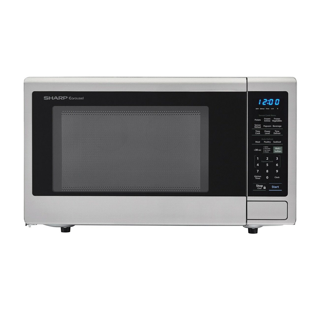 1.4 cu. ft. Sharp Stainless Steel Countertop Microwave (SMC1442CS)