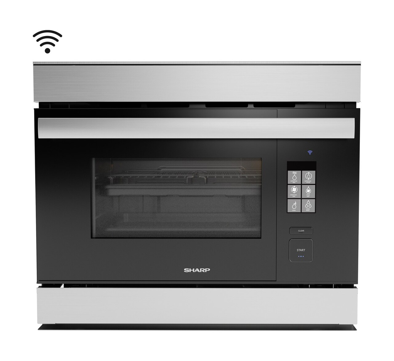 The SuperSteam SSC2489DS IoT Steam Oven: Sharp's Superheated Steam and Convection Built-in Wall Oven