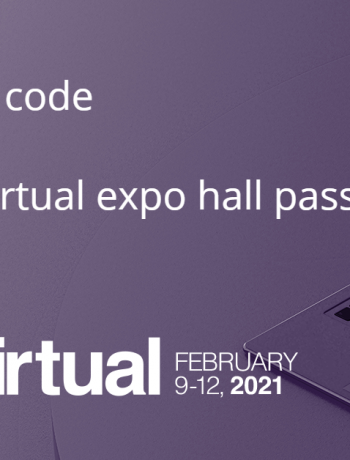 Use promo code SHARP21 for a free virtual expo hall pass.