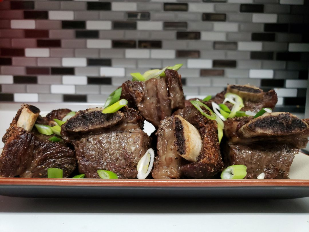 plate of short ribs