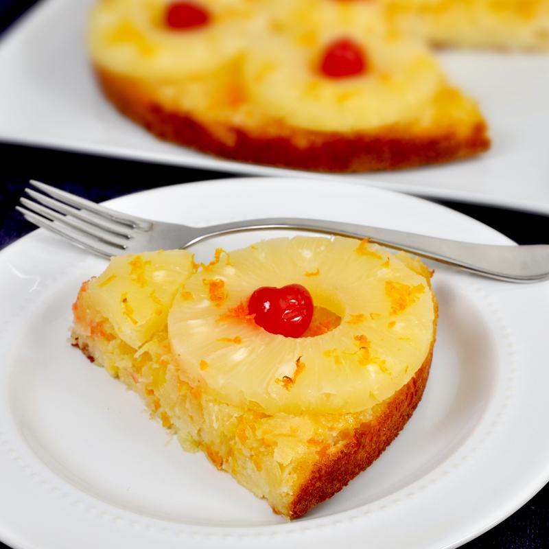 Pineapple-Orange Upside Down Cake