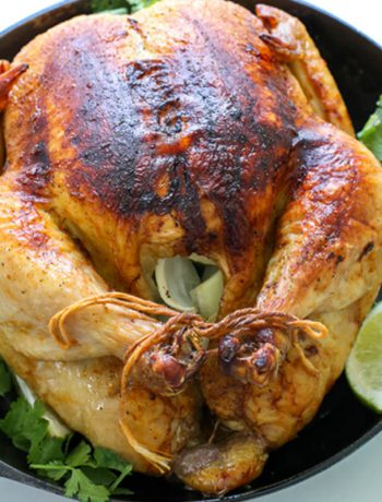 Roasted Mexican Chicken
