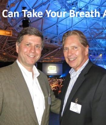 SHARP SEMCA President James Sanduski and Senior Vice President of Sales and Marketing Peter Weedfald