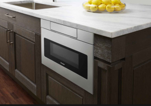 a1a2f51ce An alternative solution to save counter space without giving up a most  loved appliance would be to incorporate a Sharp Microwave Drawer into your  kitchen.