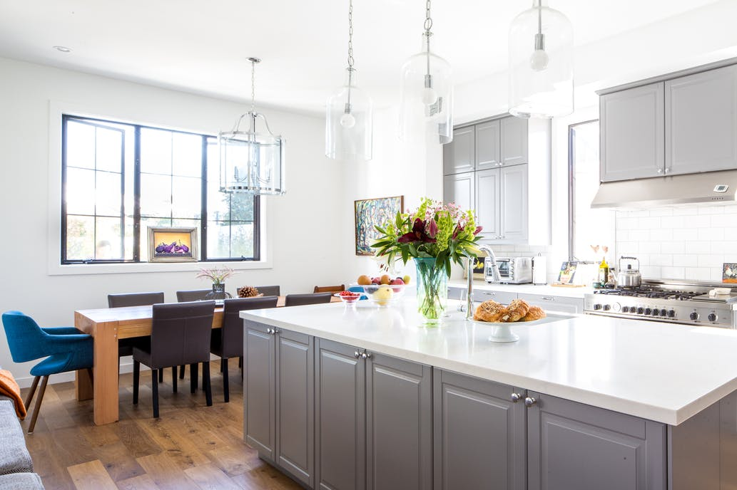 Greyscale and modern kitchen design