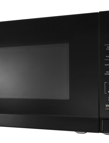 Sharp Black Microwave