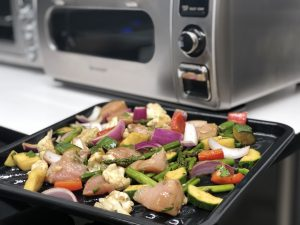 Reason 4. Perfect for Sheet Pan Cooking - 5 Reasons to Have a Sharp Superheated Steam Countertop Oven