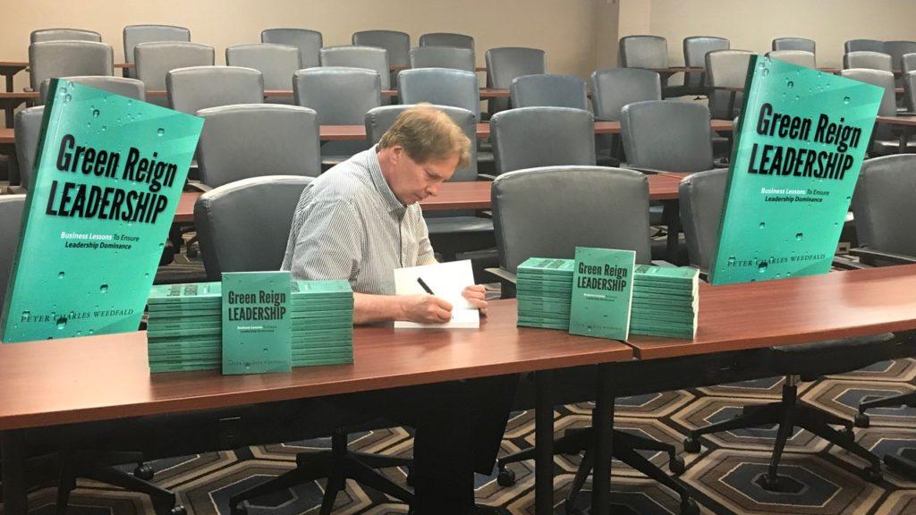 Peter Weedfald book signing July 2018