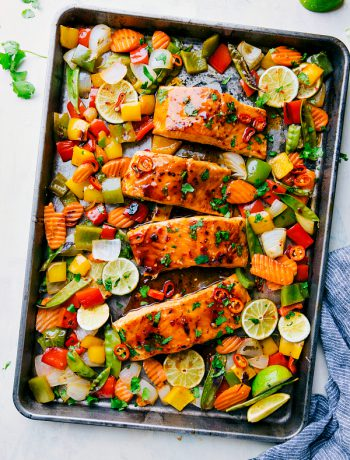 Sheet Pan Thai Salmon
