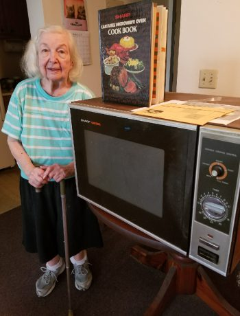 A loyal Sharp customer and a former Sharp Microwave model