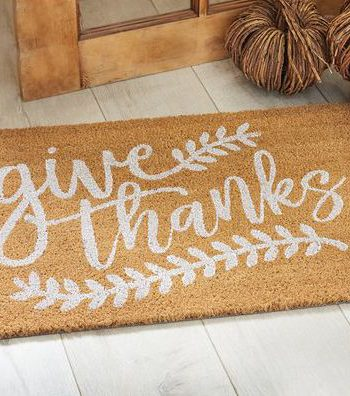 Home entry mat