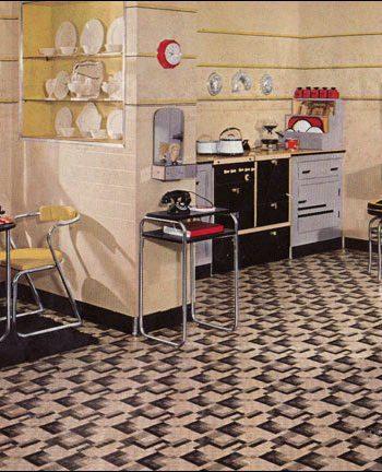 Flashback Kitchen set from mid-1900s