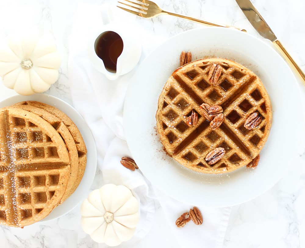 Creative waffle recipes.