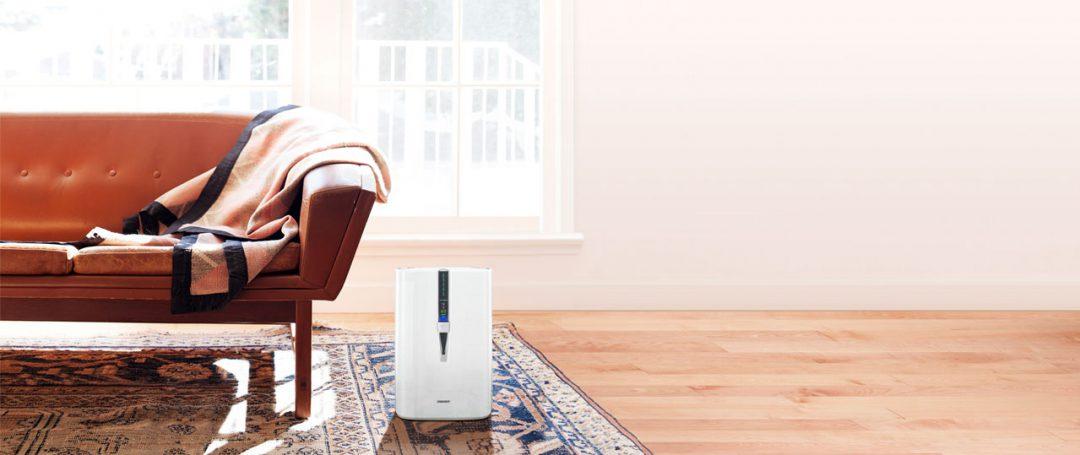 Sharp Air Purifier in a living room