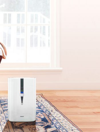 Sharp Air Purifier in a living room