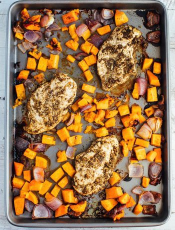One Pan Zaatar Chicken Bake