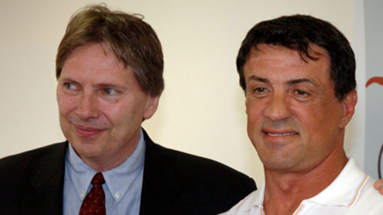 Peter Weedfald and Sylvestor Stallone
