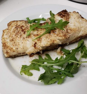 Chilean Seabass and Mixed Vegetables