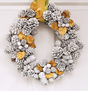 Real Simple Holiday Decorating tips.