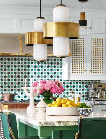 House Beautiful's kitchen remodel.