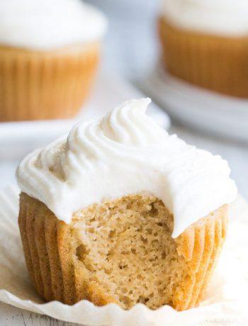 Paleo Vanilla Cupcake