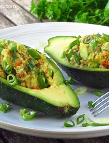 Paleo Stuffed Avocados