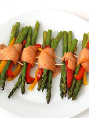Salmon Asparagus Bundles