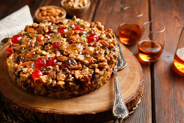 New York Times Cooking's fruitcake.