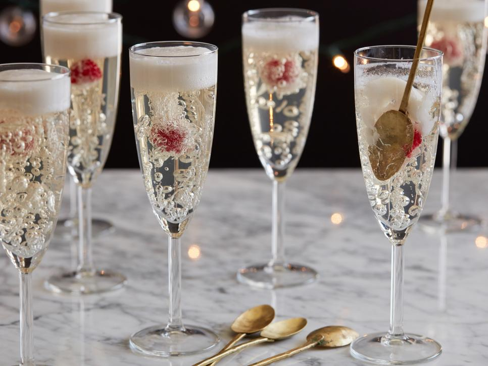 Food Network New Year's Eve drinks.