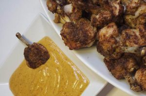 Chicken Lollipops with Aioli Dipping Sauce - Sharp USA Steam Oven Recipes