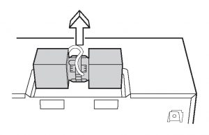 Figure 7 - How to Install an Over-the-Range Microwave Oven