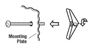 Figure 12 - How to Install an Over-the-Range Microwave Oven