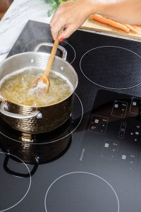 Boling Pasta on an Induction Cooktop