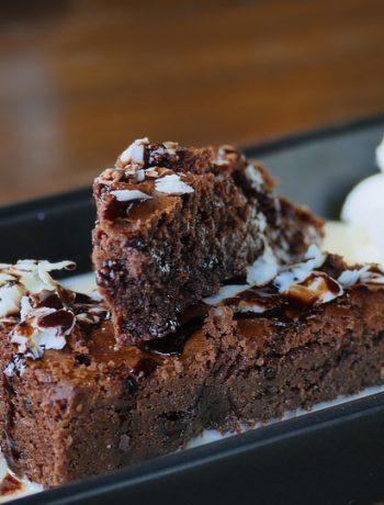 Chocolare cake dessert.