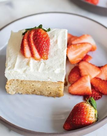 Gluten FreeNon-Dairy Tres Leches Cake