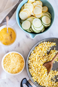 Preparing Sweet Corn & Zucchini Recipe - Sharp USA Steam Oven Recipes