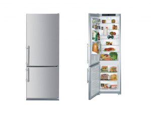 Liebherr CBS1360X 24-inch, counter-depth, bottom-freezer refrigerator