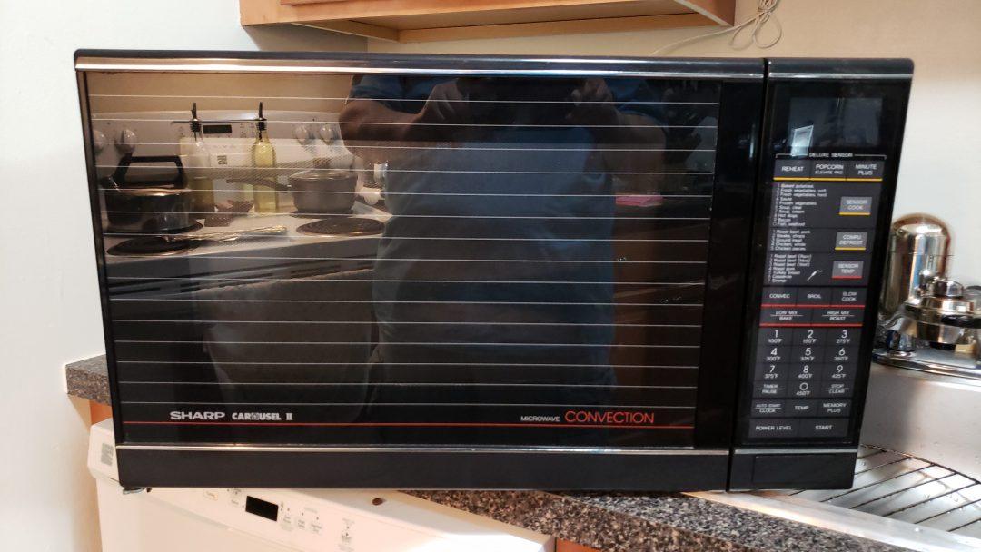 Sharp Microwave.